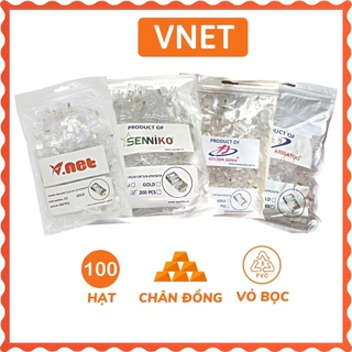 Hạt mạng Golden Japan / Vnet / Arigato / Senniko chân đồng dày (giao ngẫu nhiên) hàng xịn mới 100% VNET-HM01