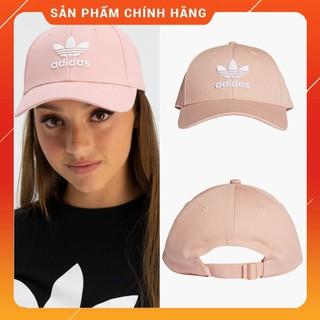 ⚡️ [ Full Tag Code ] Mũ / Nón thời trang Adidas Trefoil Baseball Cap – Hồng Cá Tính | DV0173 – GIÁ BÁN SỈ / HÀNG CHẤT