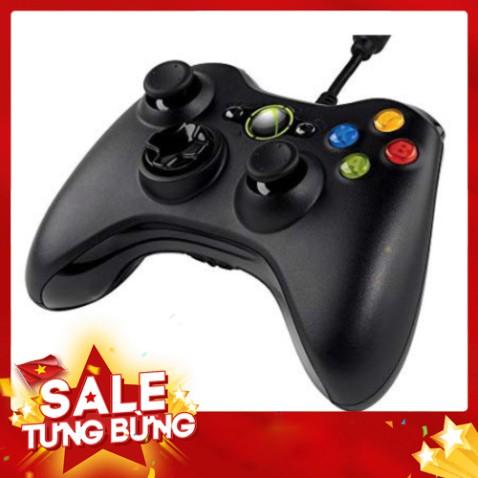 [FREE SHIP] Tay Cầm Chơi Game Có Dây Microsoft Xbox 360 Hỗ trợ tất cả các thiệt bị Android , PC , Xbox, Androi TV