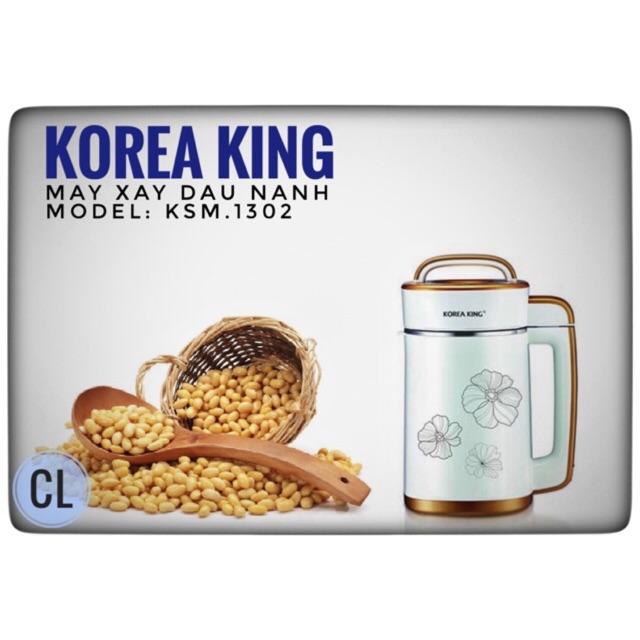 Hàng chính hãng - Máy xay đậu nành Korea King KSM-1302GS