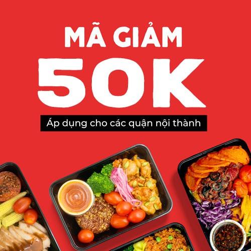 HCM [E-Voucher] Mã giảm giá 50k khi đặt món trên Fitfood