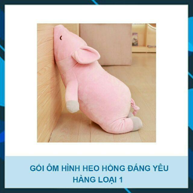 [Mã TOY5 giảm 10% đơn 50K] Heo hồng Nhồi bông siêu cute 75cm(freeship toàn quốc)