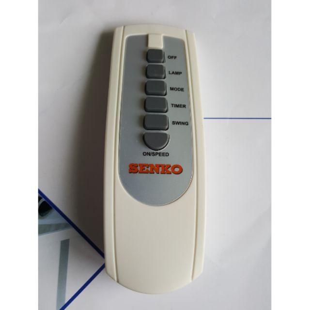 Remote điều khiển từ xa quạt Senko - 3383476 , 1095696252 , 322_1095696252 , 65000 , Remote-dieu-khien-tu-xa-quat-Senko-322_1095696252 , shopee.vn , Remote điều khiển từ xa quạt Senko