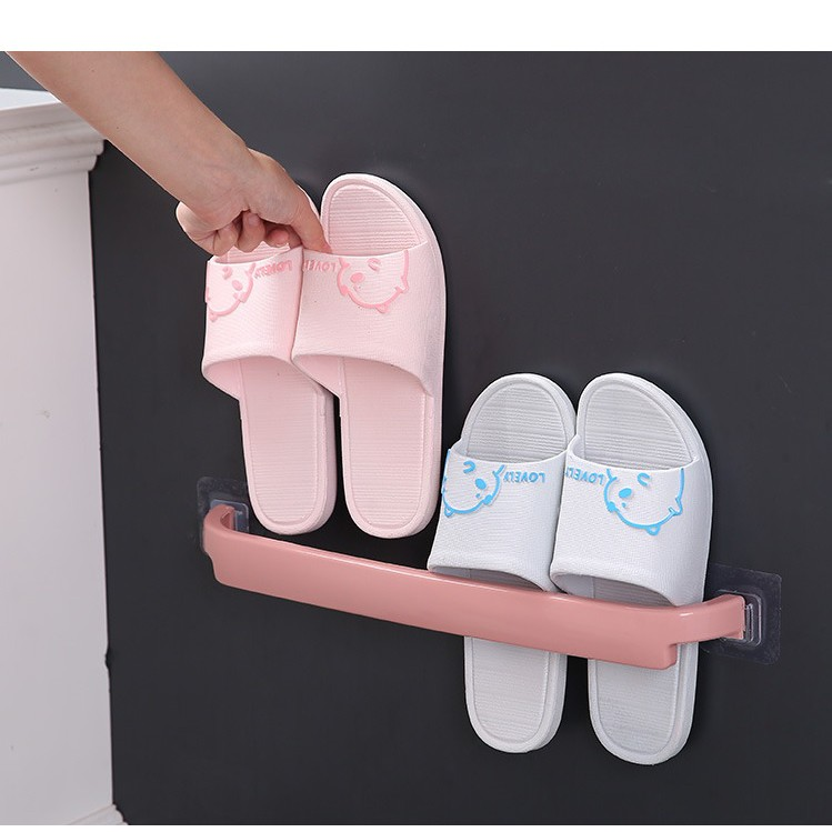 Thanh treo đồ nhà tắm dán tường chất liệu nhựa PP