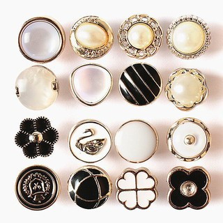 Buttons, high-end round shirts, small buttons, chiffon cardigans, sweater buttons, men's and women's shirts, small fragrance decorative buttons