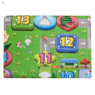 [MỚI]Thảm chơi 2 mặt cho bé Maboshi 1m8 x 2m. Chất liệu cotton mút cao cấp