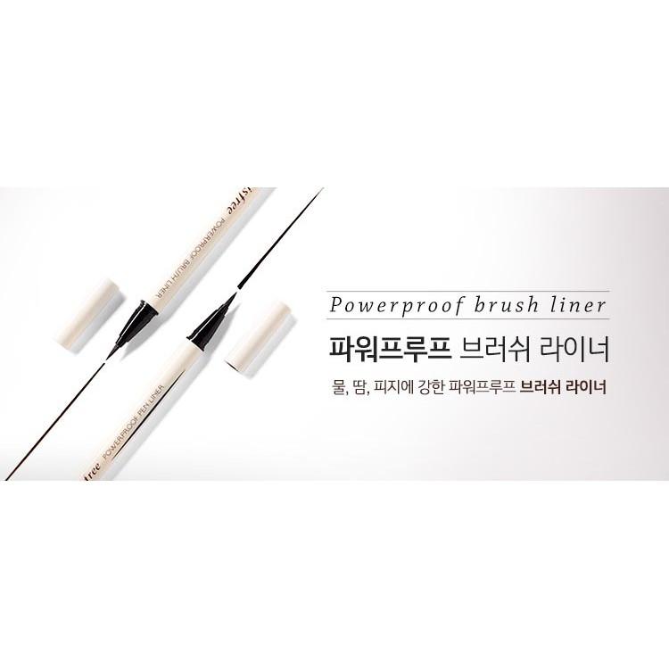 Kẻ mắt nước không lem Innisfree Powerproof Brush Liner