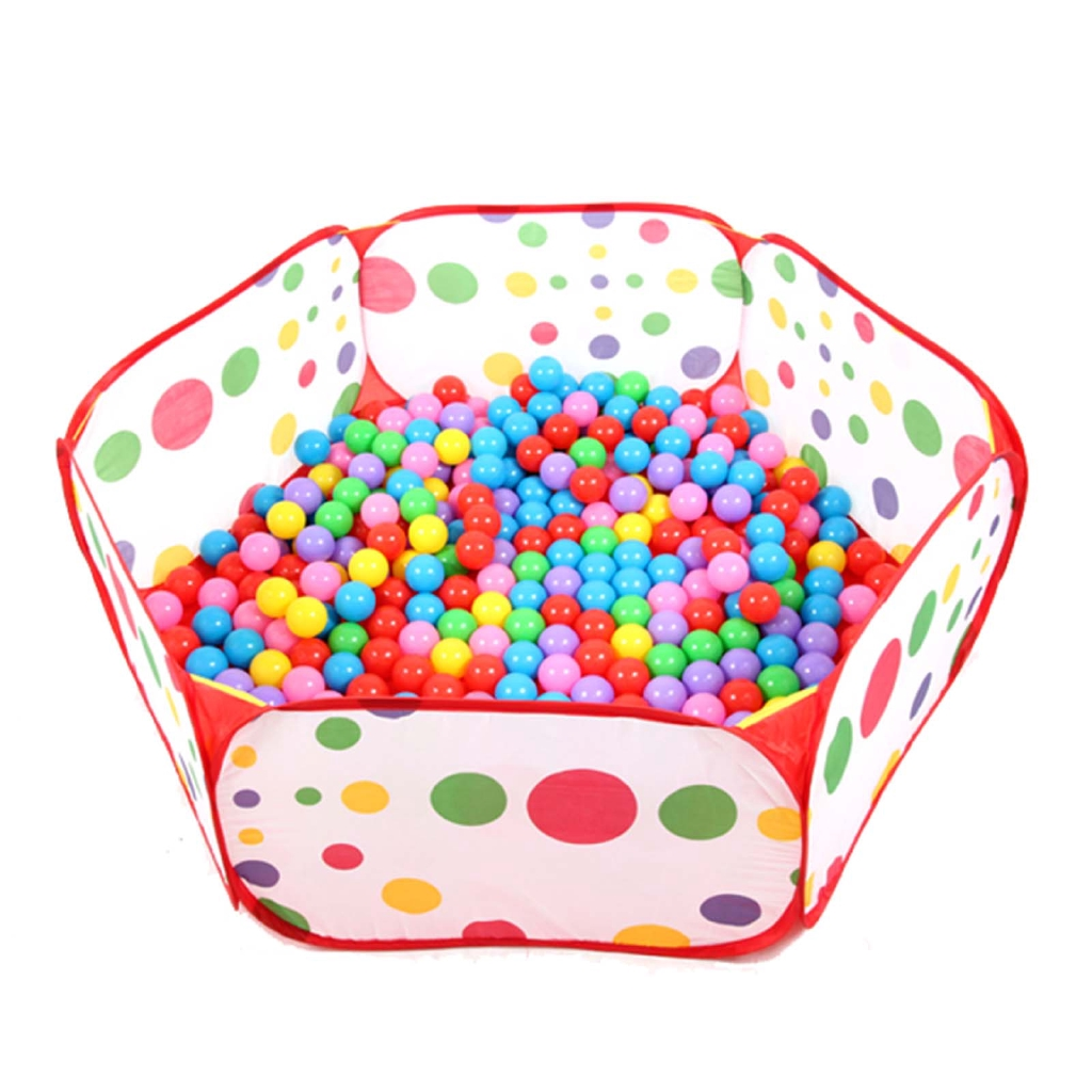 Portable Hexagon Outdoor/Indoor Ocean Ball Pit Pool Kids Game Play Toy Tent New