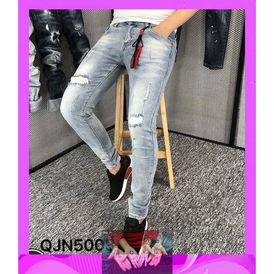 Quần Bò Nam Quảng Châu Phong Cách Thời Trang,quần jean nam mẫu mới độc lạ