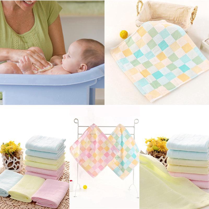 Khăn tắm cotton mềm mại cho trẻ sơ sinh