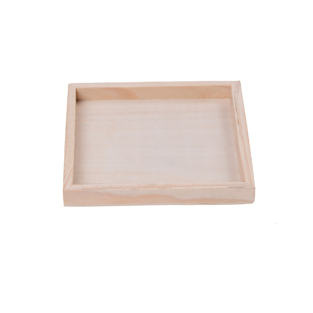 NEW❤❤Wooden Nine Puzzle Six-sided Jigsaw Tray Dedicated Bottom Box Kid T