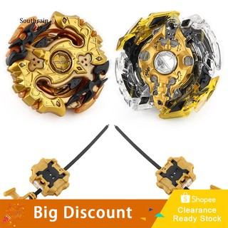 STRN_4D Fusion Evolution Starter Battle Spinning Top Beyblade Kids Toy with Launcher