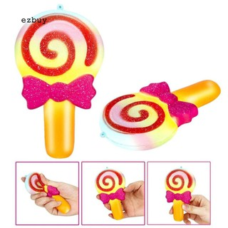 【EY】Soft Squishy Slow Rising Cartoon Lollipop Kid Adult Stress Reliever Squeeze Toys Ncận