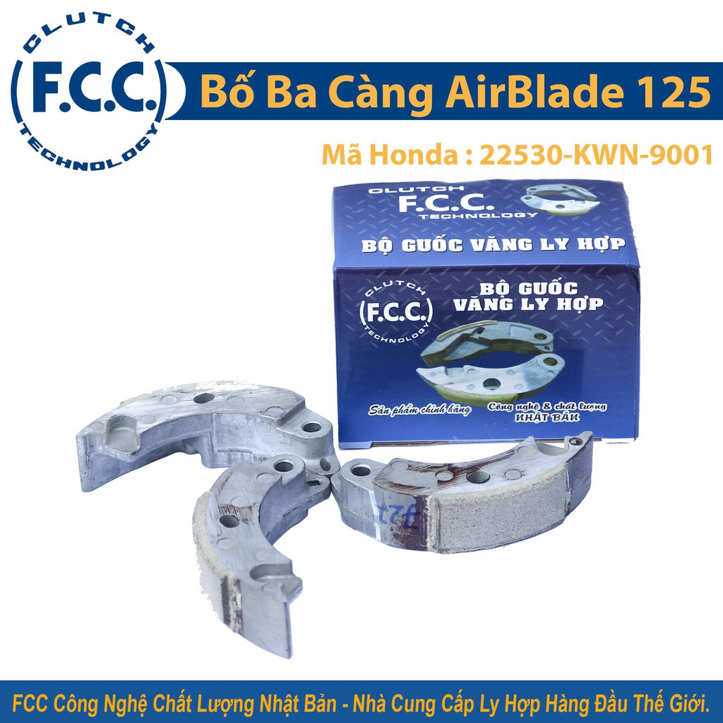 Bố ba càng FCC Honda AirBlade 125cc ( KWN )