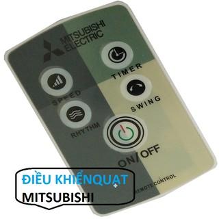 [Mã ELORDER5 giảm 10k đơn 20k] ĐIỀU KHIỂN QUẠT MITSUBISHI - ĐIỀU KHIỂN ĐIỀU HÒA