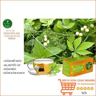 Trà Giảo Cổ Lam túi lọc [FREE SHIP] trà Dược Liệu Pù Mát 30 túi Bộ Y tế