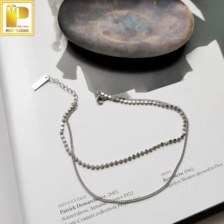 Lắc chân bạc 925 xinh sang lấp lánh Trang Sức Phú Thành thumbnail