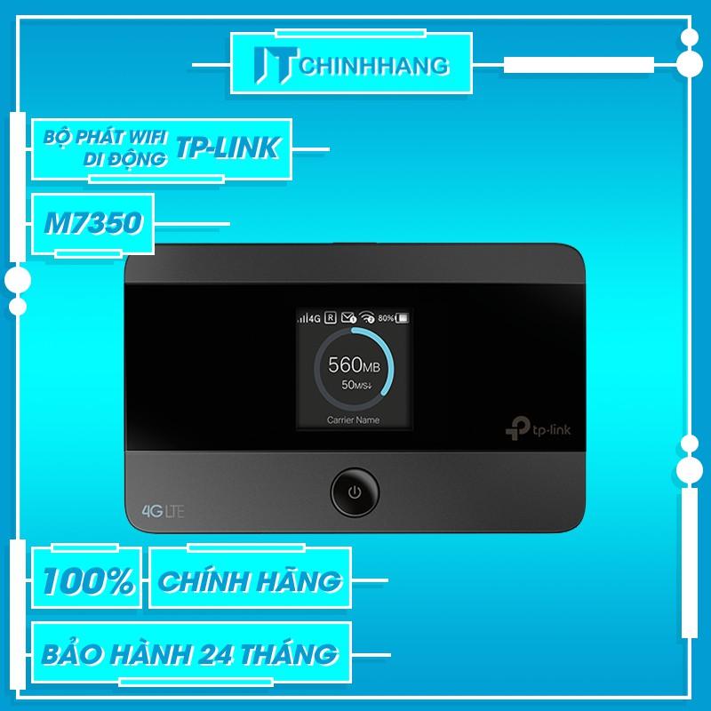 Bộ Phát Wifi Di Động 4G LTE TP-Link M7350 V5 (1 băng tần 2.4GHz)-