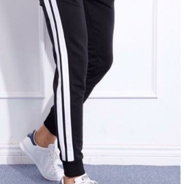 Quần JOGGER 2 sọc NAM (có bigsize)