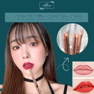Chì kẻ môi siêu mảnh lâu trôi chính hãng Lip Pencil Nhiều Màu Sắc thumbnail