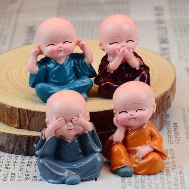 Bộ tượng chú tiểu 4 không trang trí - 2501284 , 1109860916 , 322_1109860916 , 27000 , Bo-tuong-chu-tieu-4-khong-trang-tri-322_1109860916 , shopee.vn , Bộ tượng chú tiểu 4 không trang trí