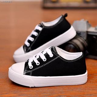 Giày Vải Canvas Thoáng Khí Thời Trang Cho Bé Trai Và Gái
