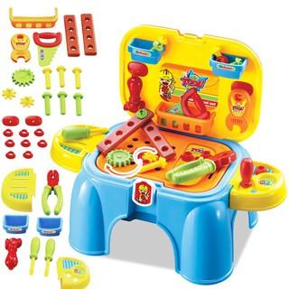 FREESHIP ĐƠN 99K_Bộ đồ chơi ghế kết hợp dụng cụ kỹ sư cho bé