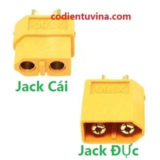 Cổng kết nối Jack XT60 (đực, cái)