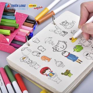 Hình ảnh Bút Lông Màu Fiber Pen Thiên Long-5