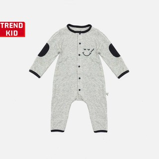 Sleepsuit cho bé trai bé gái từ 5 đến 19kg màu ghi BABYWANT thumbnail