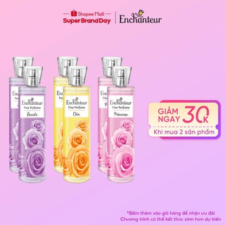 [Mã COSWIPRO8 GIẢM 8% ĐƠN 250K] Combo 2 Nước hoa toàn thân cao cấp Enchanteur hương Princesse Chic Beauté 100ml Chai thumbnail