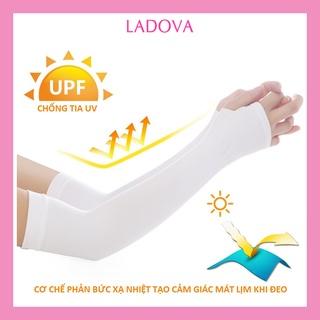 Găng tay chống nắng xỏ ngón Aqua-X chính hãng dày dặn chống tia UV không đường may PK10 thumbnail