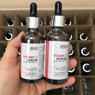 [ HOT SPA ]Tinh chất serum 300SKIN Vitamin C trắng da cấp nước chứa HA Hyaluronic Acid 50Ml- hàng Chuyên spa hiệu quả thumbnail