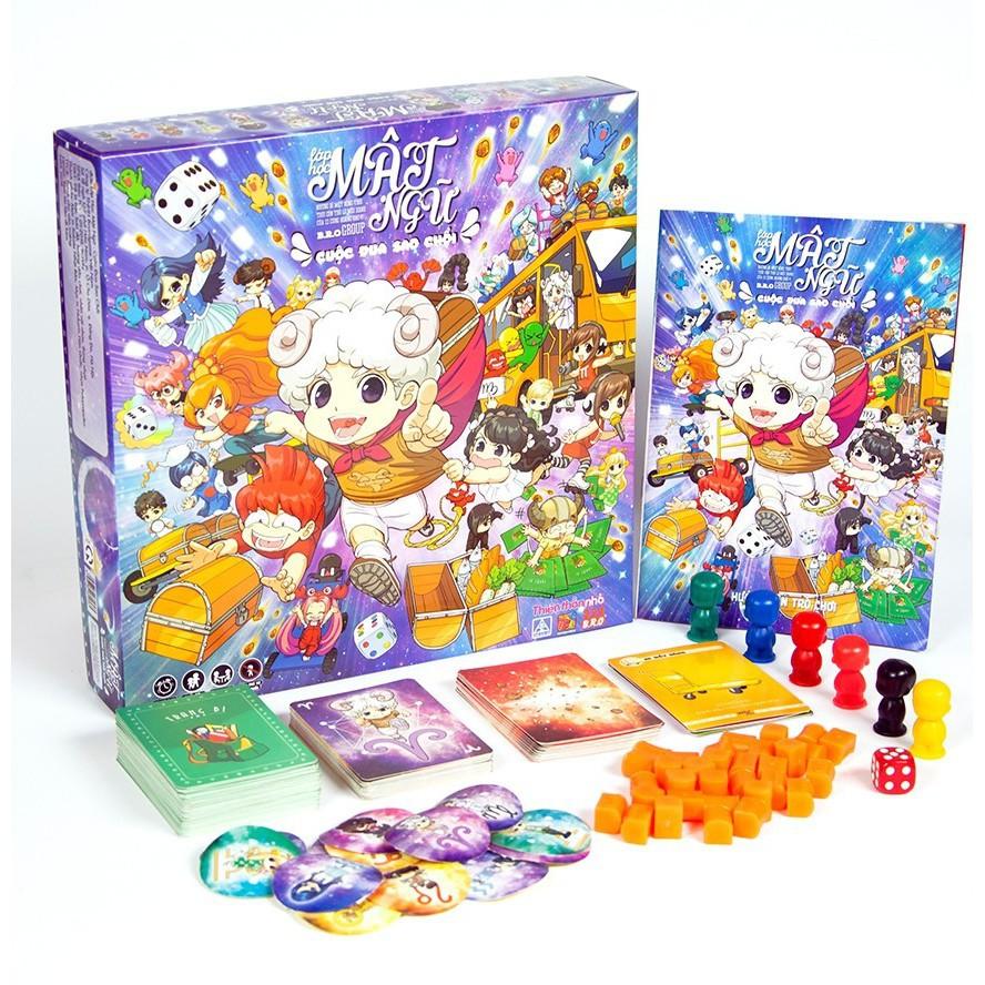 [Đồ chơi loại tốt] Board Game Lớp Học Mật Ngữ - Cuộc Đua Sao Chổi Và Siêu Thú Ngân Hà...