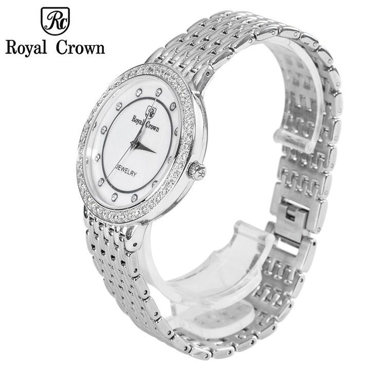 Đồng hồ nam chính hãng Royal Crown 3650 dây thép