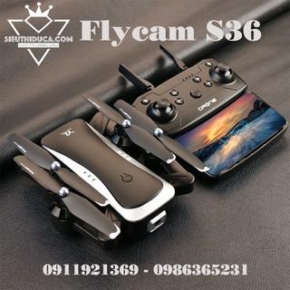 Flycam S36 Trang Bị 2 Camera HD 1080P Pin 2000mAh Bay 18-20p