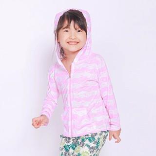 Áo khoác đi biển Sobie Kid Zipper Pink PinkFong thumbnail
