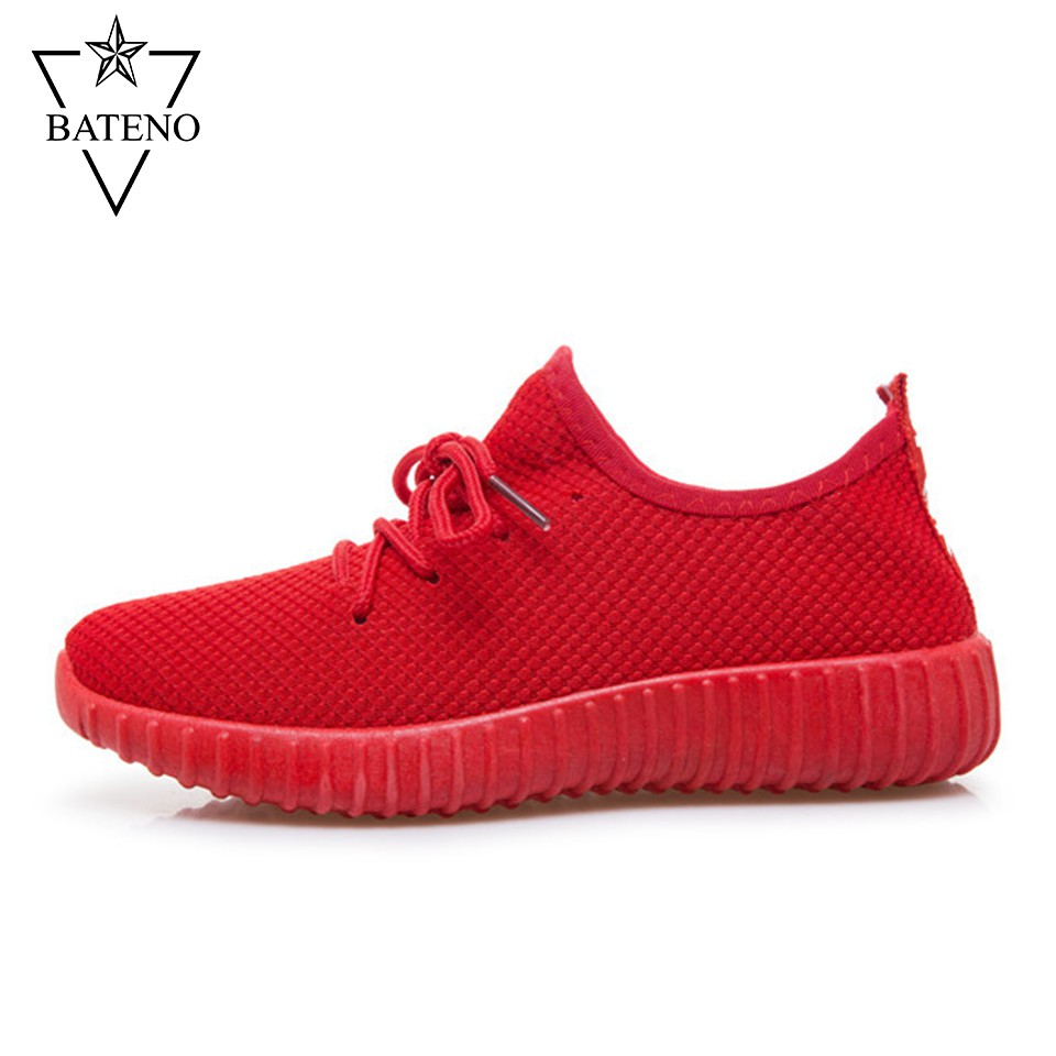 Giày Thể Thao Thời Trang Nam Nữ BTN33 (Đỏ)