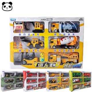 6Pcs/Set Kids Boys Different Shape Simulate Pull Back Car Toys