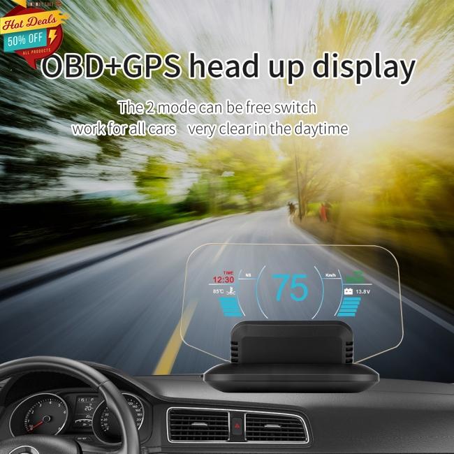 Màn hình hiển thị HUD trên xe hơi - 22107927 , 2897674411 , 322_2897674411 , 1584000 , Man-hinh-hien-thi-HUD-tren-xe-hoi-322_2897674411 , shopee.vn , Màn hình hiển thị HUD trên xe hơi