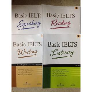 Bộ Basic (writing, reading, listening, speaking) – Giá lẻ