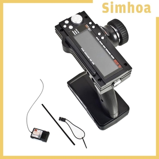 [SIMHOA] RC Transmitter Receiver Radio System Kits 2.4Ghz 3 Channel for 1/10 RC Crawler