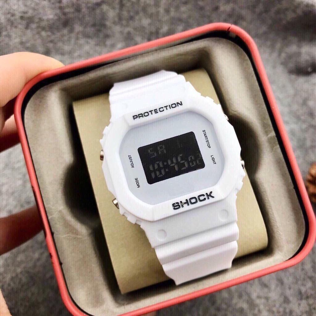 ( Giá Sỉ ) Đồng hồ thể thao nam nữ Shock dây silicon cực đẹp S47963