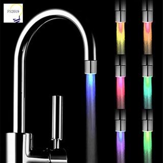 Đầu vòi sen đèn LED 7 màu thay đổi sáng tạo lãng mạn cho nhà tắm