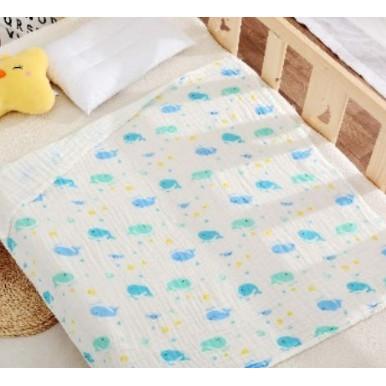 [XẢ KHO GIÁ SỐC] khăn tắm cho bé - Khăn Tắm NHĂN 6 lớp xuất nhật ( 1m2x1m2) | Bán Chạy