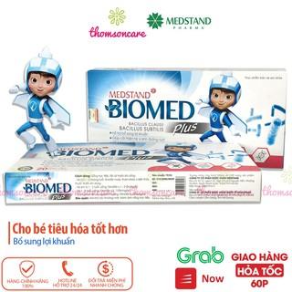 Men vi sinh Medstand Biomed Hộp 20 ống cho bé từ sơ sinh, bổ sung lợi khuẩn, giảm rối loạn tiêu hóa thumbnail