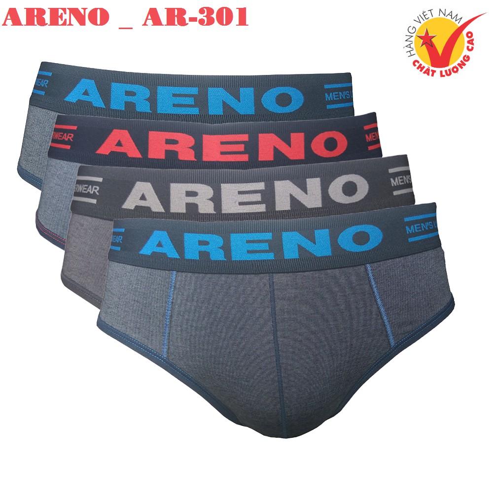 Combo Quần lót nam Cao Cấp ARENO _ AR-301 [Lưng Dệt Muối Tiêu]