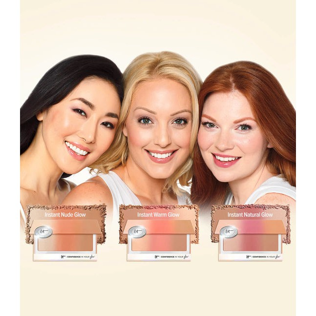 IT COSMETICS ? Bảng phấn đa năng Confidence In Your Glow