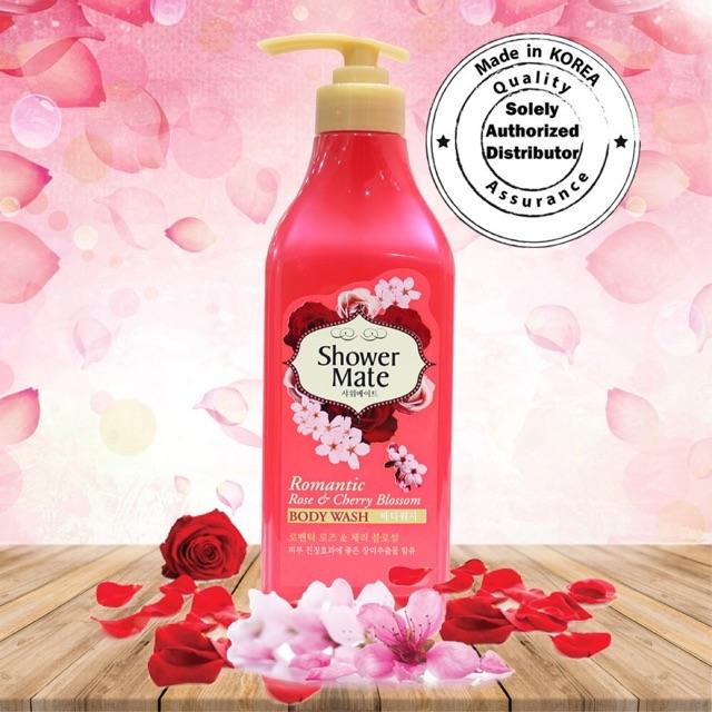 Sữa tắm tinh chất hoa đào và Hồng tươi shower mate 550g | Shopee Việt Nam