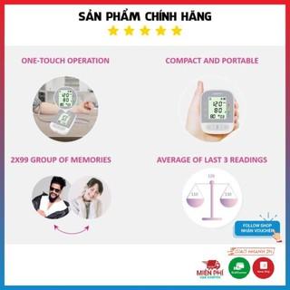 [FDA Hoa Kỳ + xuất USA] Máy đo huyết áp omron điện tử bắp tay Jumper JPD-HA210, Bảo hành chính hãng thumbnail